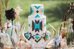 wide shot cake web