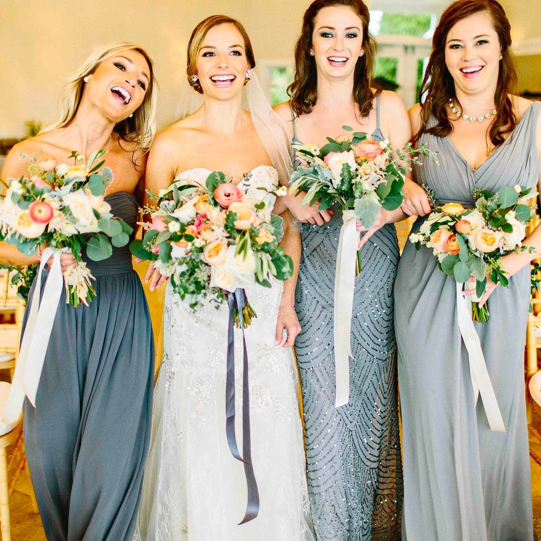 {these girls} photo | @kellydillonphotography  #brideandhergirls #lovethis #thegirls #bouquets #happiness #memories #lotusfloraldesigns
