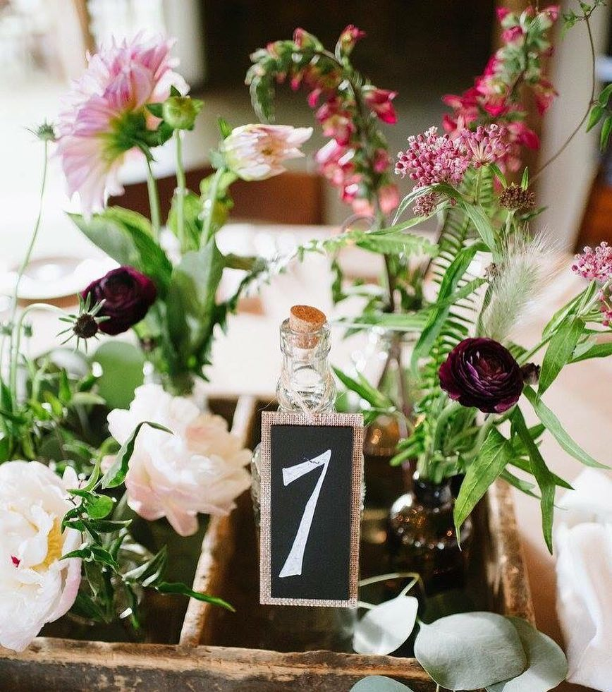{sweetheart table} photo | @bethanyanddan  #brideandgroom #sweethearts #tablebling #vintage #rustic #barnwedding #wildflowers #lotusfloraldesigns #weddingflorist