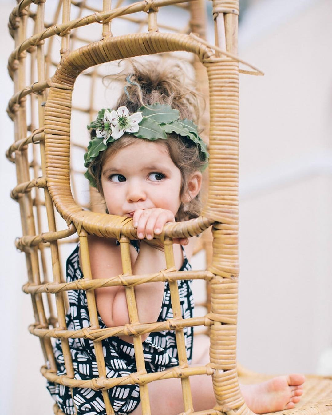{patience} photo | @katepreftakes4  This child stole the show at this shoot. Patience you are a natural… #bohobabe #babymodel #flowergirl #flowercrown #vintagebaby #photoshoot #lovethiskid #wickerchair #tropical #lotusfloraldesigns #collaboration #getcreative