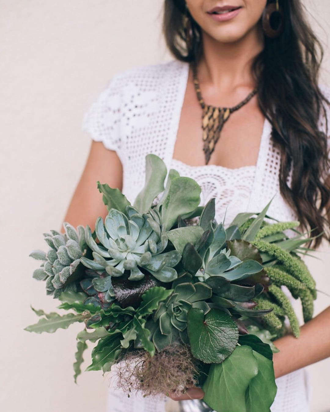 {green} photo | @katepreftakes4  #bouquet #succulents #simple #green #botanical #accessory #bridebling #bohostyle #photoshoot #weddingchicks #collaboration #lotusfloraldesigns