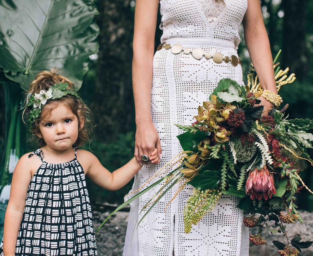 {boho flower child} photo | @katepreftakes4  #seriousface #babymodel #bohobabe #boho #bohostyle #bouquet #customdress #lotusfloraldesigns #photoshoot