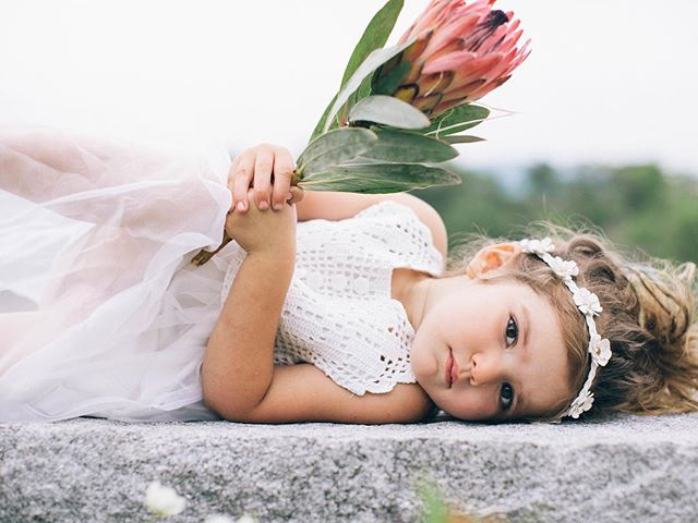 Patience was not yet 3 years old when we did this shoot & she was incredible. @kate_preftakes brought out the best in this sweet flower babe & almost a year later I'm still in awe of some of these captures… . . . #flowerchild #flowerbaby #bohobaby #styledshoot #thatsdarling #cutiepie #prettybaby #protea #babymodel