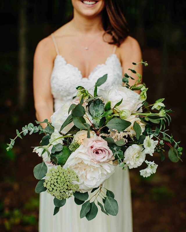 {a bit wild} photo | @kpietrowski . . #bride #bouquet #weddingaccessory #lovely #peony #greenery #eucalyptus #rose #succulents #love #weddingflowers #lotusfloraldesigns #weddingflorist